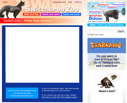"Switch Zoo ""Make New Animals"" page"